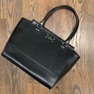 Kate Spade Wellesley large Camryn black leather